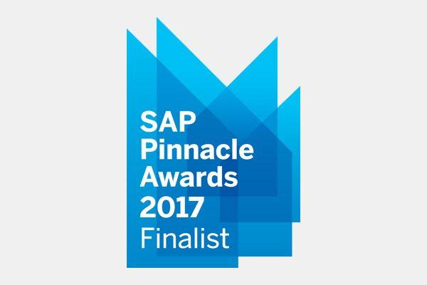 SAP Pinnacle Awards 2017 finalist