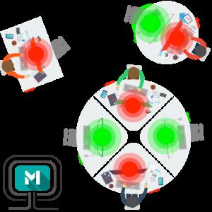 Matrix Detect Nearby floorplan