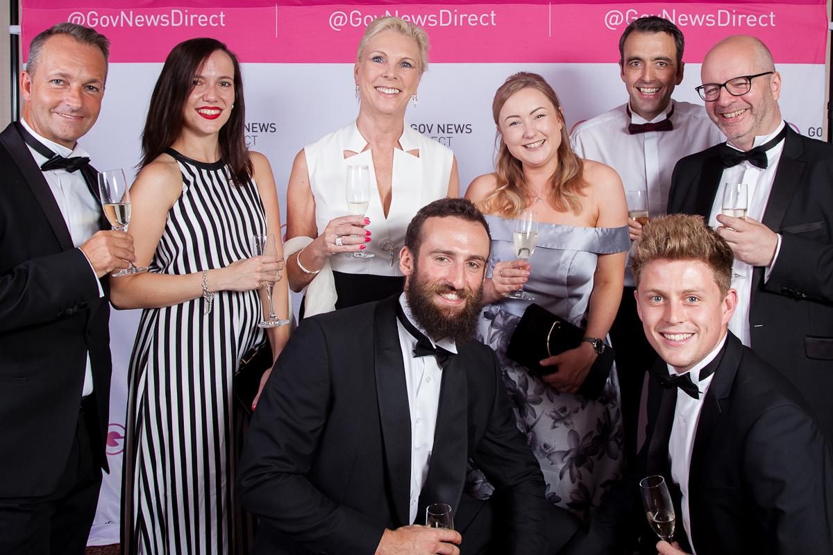 Paperless Award Team Photo