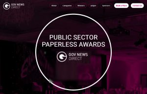 Paperless awards header image